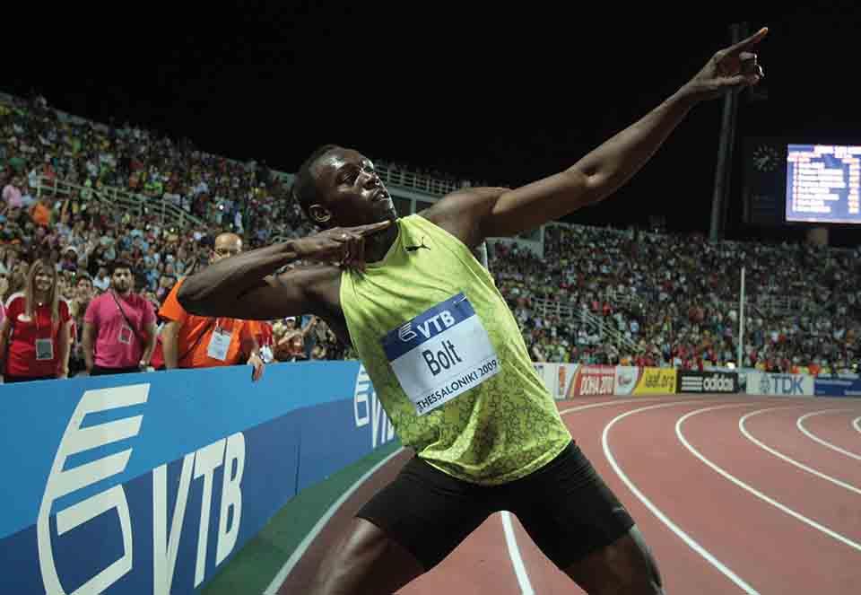 Usain Bolt: Blesk z Karibiku
