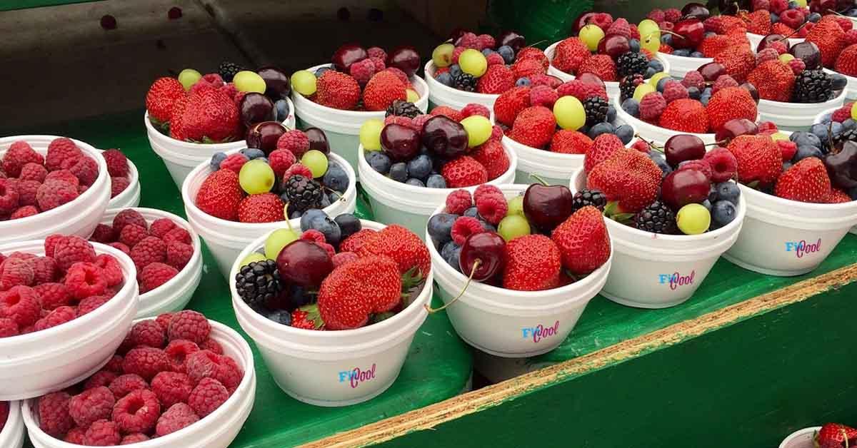 Ako sa zbaviť svalovice - ovocie