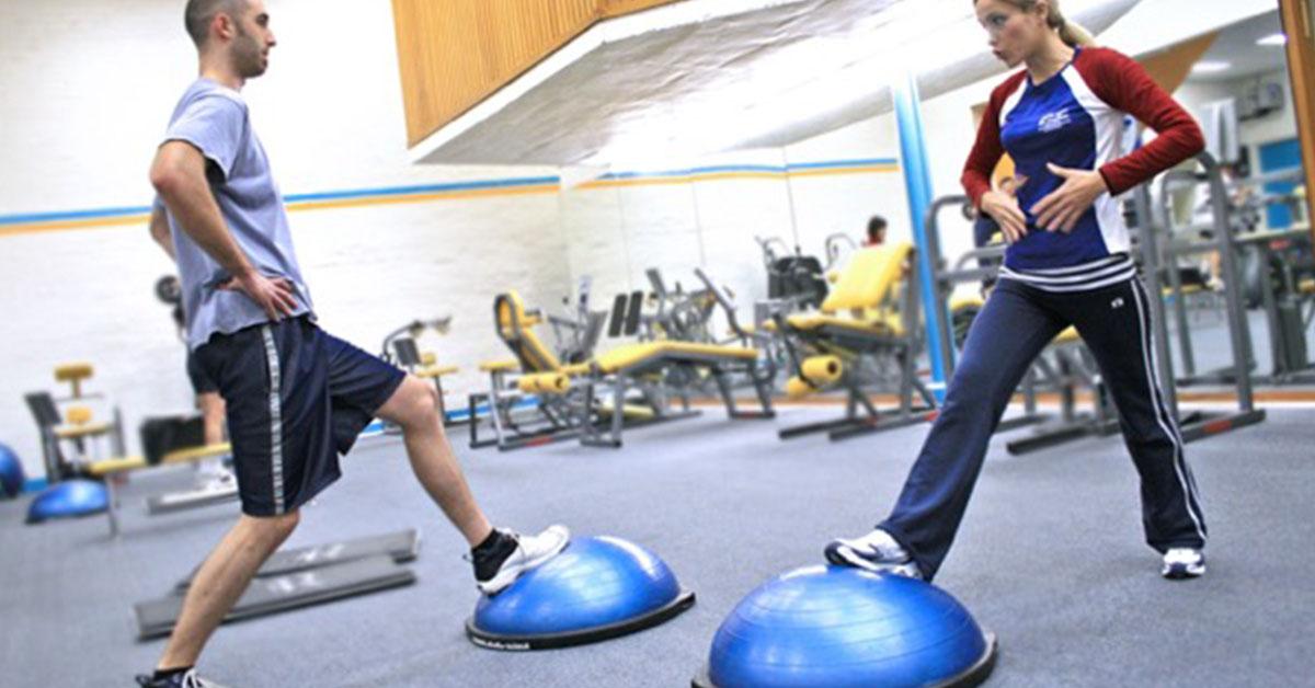 bosu - balančný tréning