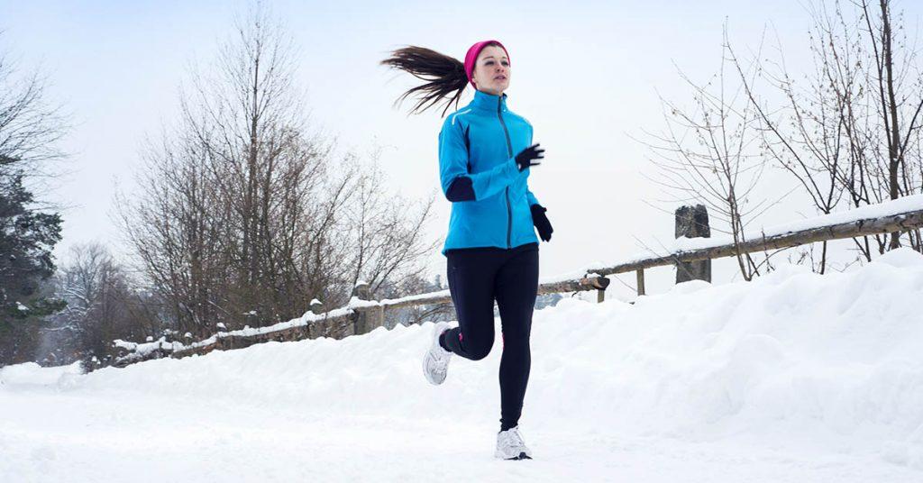 ako behať v zime