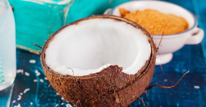 kokos - kokosovy olej