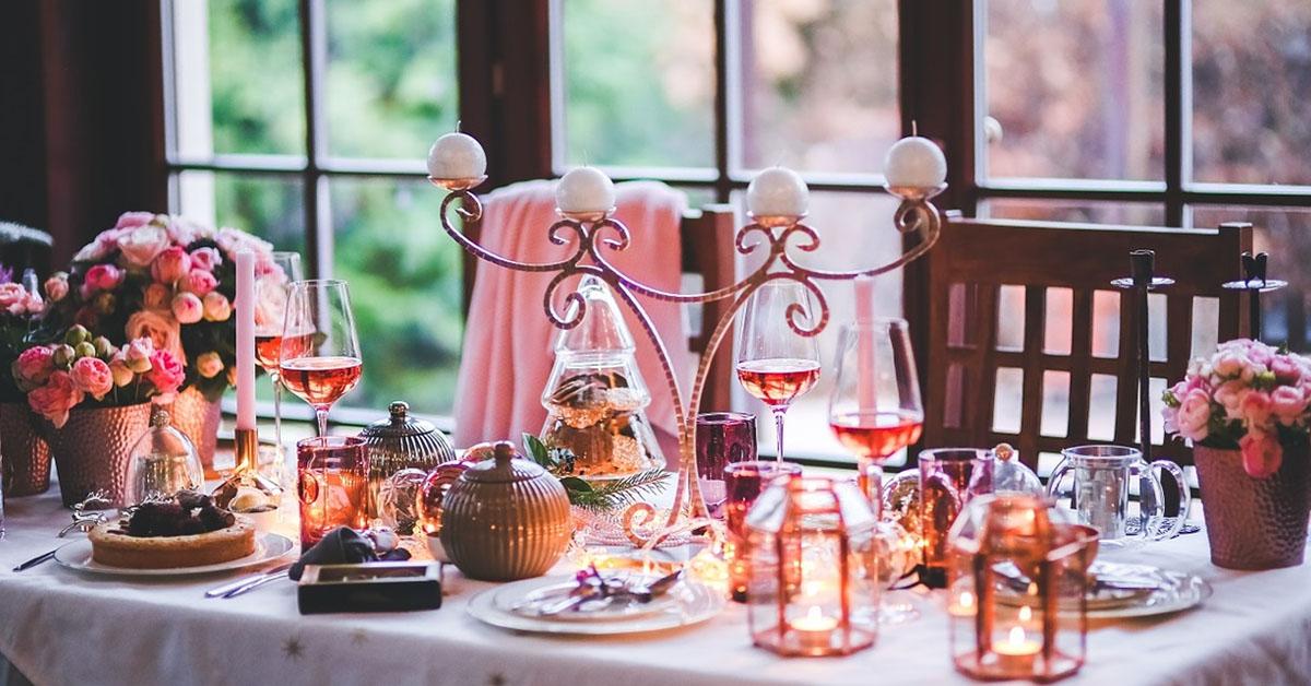 zdravý vianočný stôl