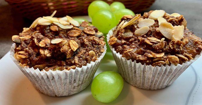 Zdravé muffiny s müsli a BEZ múky