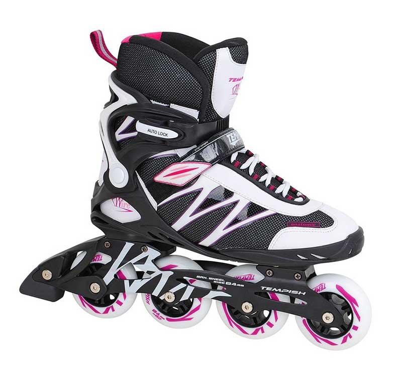 Dámske fitness kolieskové korčule TEMPISH WIRE LADY ABEC9  - recenzia