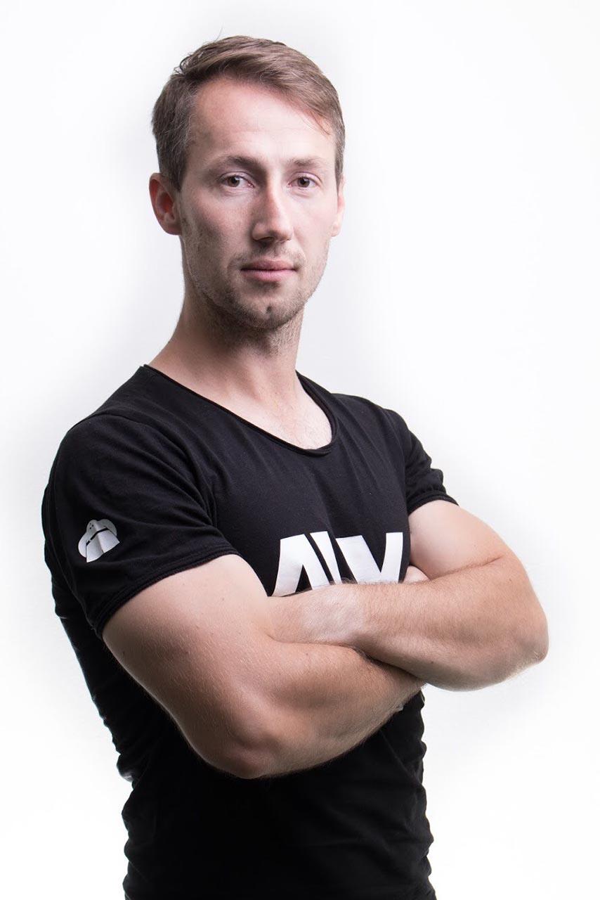 Fitness tréner Matúš pillár