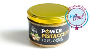 Power Pistacchio 200 g - recenzia orieškové maslo