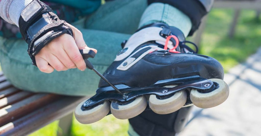 ako sa starať o kolieskove korčule