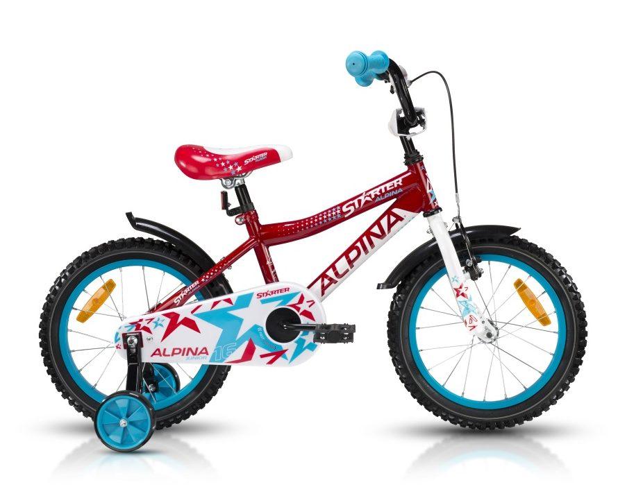 """Detský bicykel ALPINA Starter 16"""" - recenzia"""