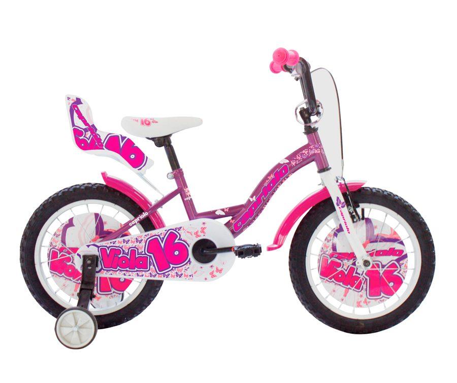 """Detský bicykel Capriolo Viola 16"""" - recenzia"""