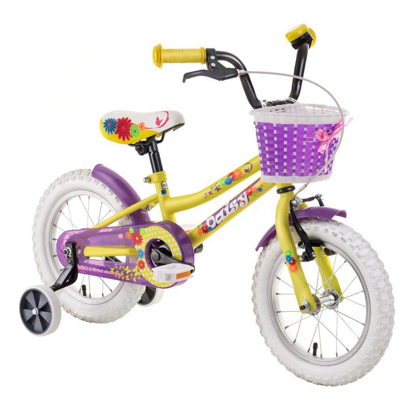 Detský bicykel DHS Daisy - recenzia