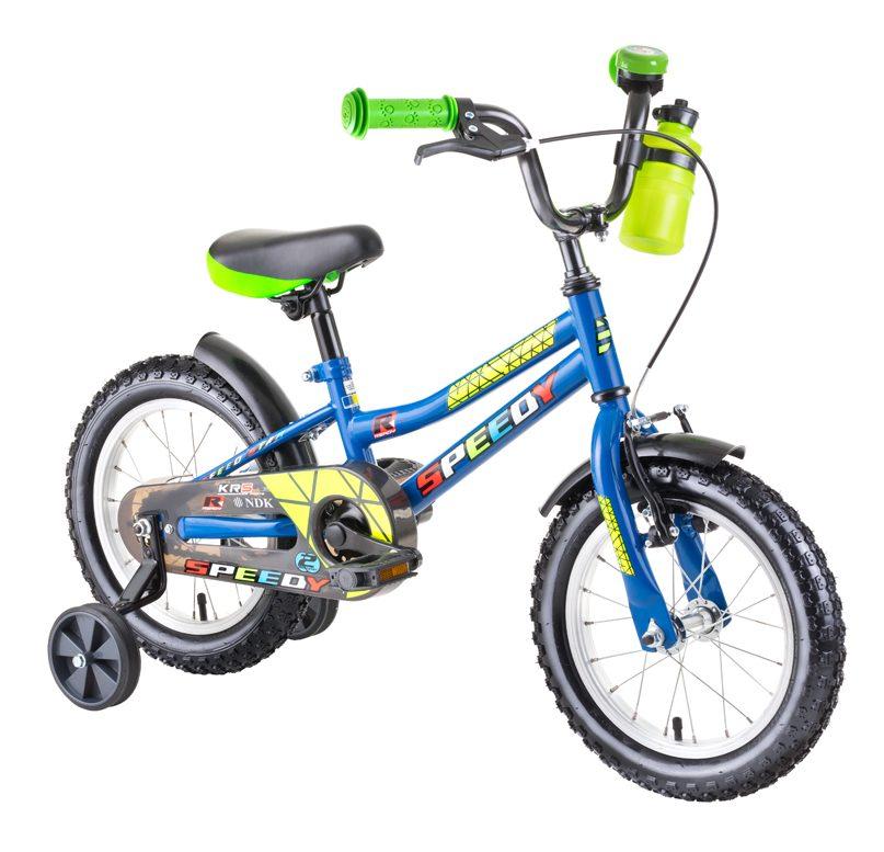 """Detský bicykel DHS Speedy 1401 14"""" - recenzia"""