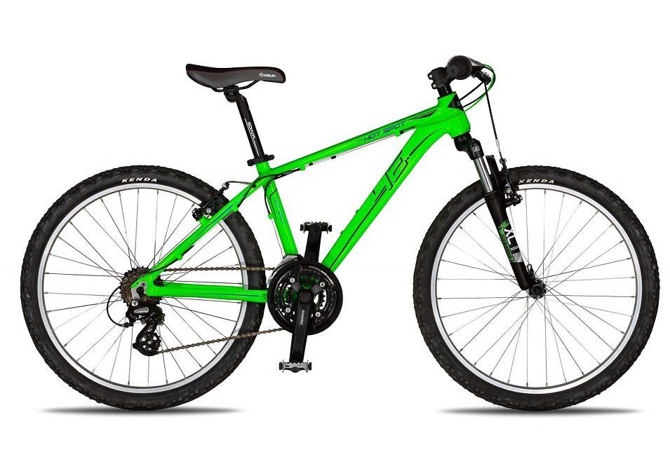 "Juniorský bicykel 4EVER Hot Spot 24"" - recenzia"