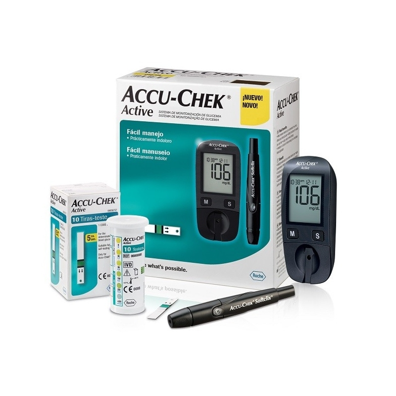 ACCU-CHEK Active Kit - glukomer
