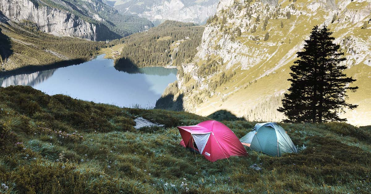 najlepšie stany na camping