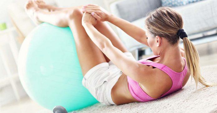 trening doma s vlastnou váhou