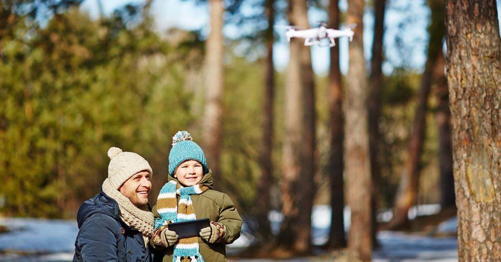 drony pre deti