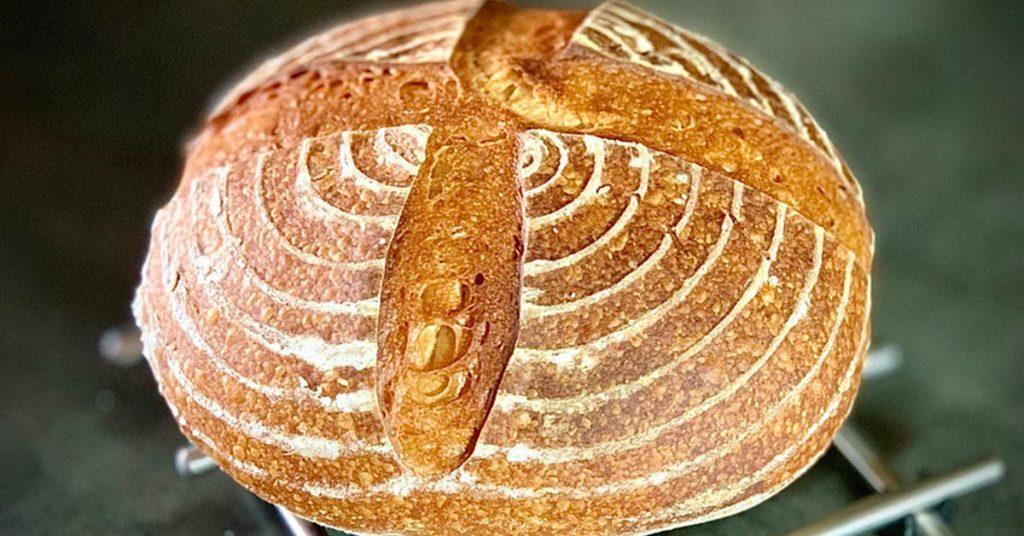domáci kváskovy chlieb