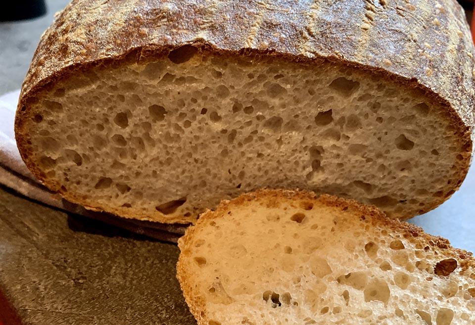 Pšenično ražný kváskový chlieb (ca 700 g)