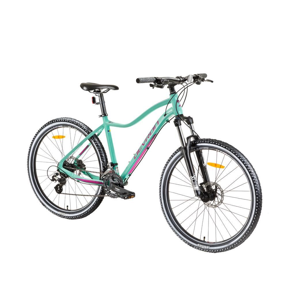 najlepsie horske bicykle recenzia - Dámsky horský bicykel Devron Riddle Lady 1.7 27,5´´