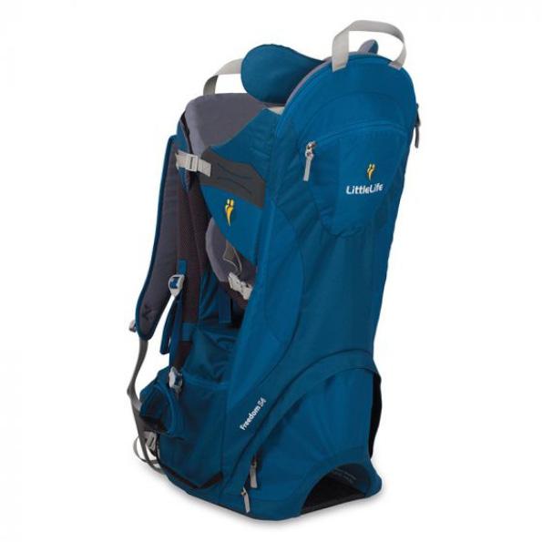najlepšie detské turistické nosiče - LittleLife Freedom S4 Blue - recenzia
