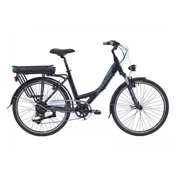 najlepšie elktrobicykle - Mestský elektrobicykel Maxbike E - City 26
