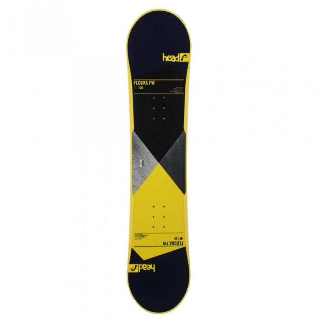 najlepšie snowboardy - Snowboard HEAD Flocka FW 4D Jr s viazaním Stuf Air
