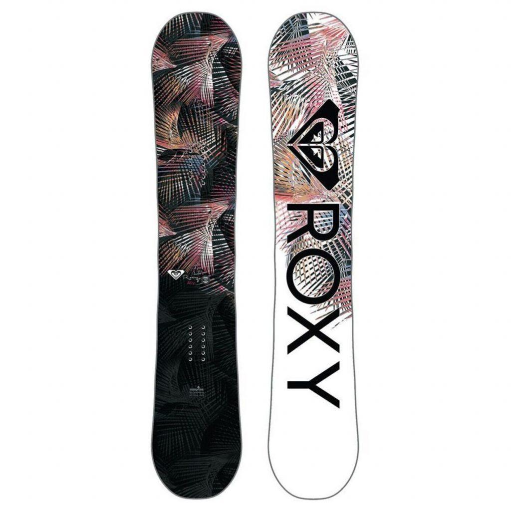 najlepšie snowboardy - Snowboard ROXY Ally BTX s viazaním Fastec